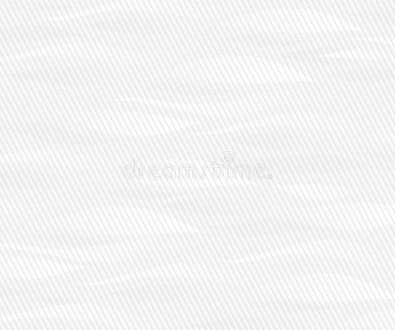 Figure sinuose linee sottili del fondo grige Illustrazione di vettore royalty illustrazione gratis