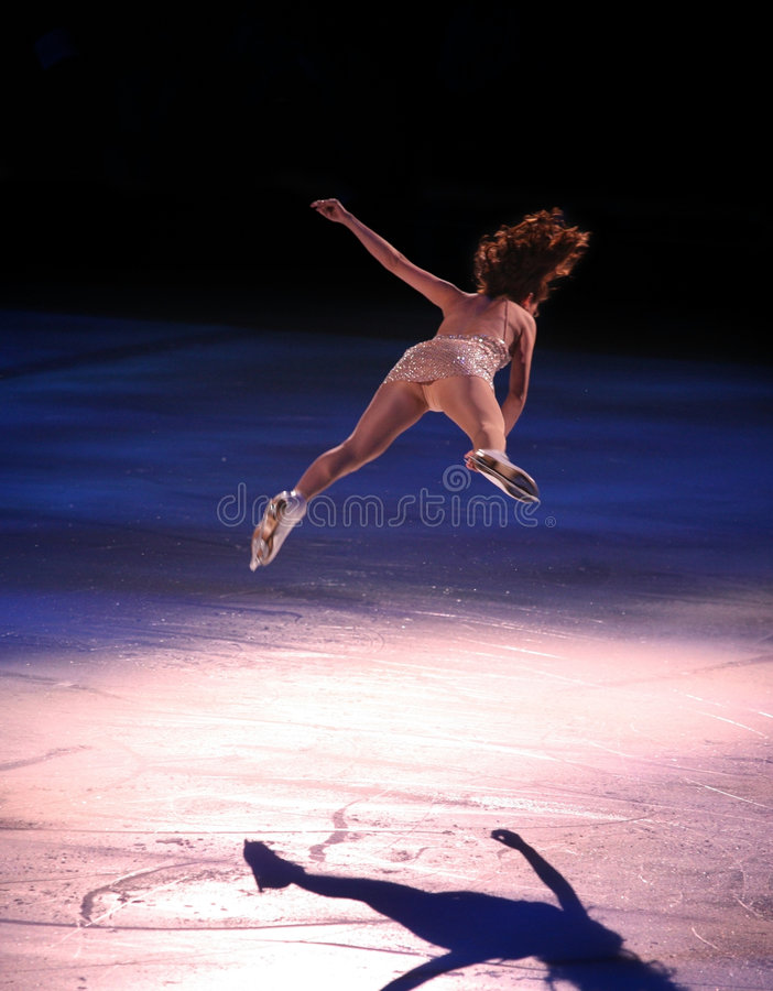 Download Figure skater stock photo. Image of back, rink, flexibility - 2054174