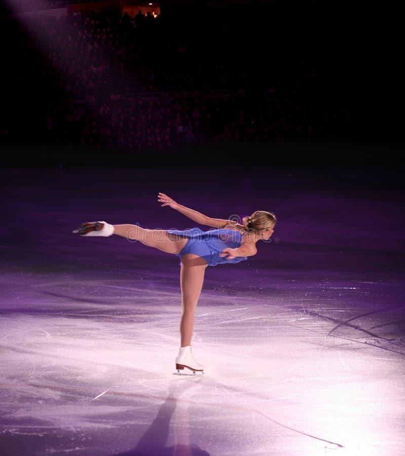 Figure skater stock image