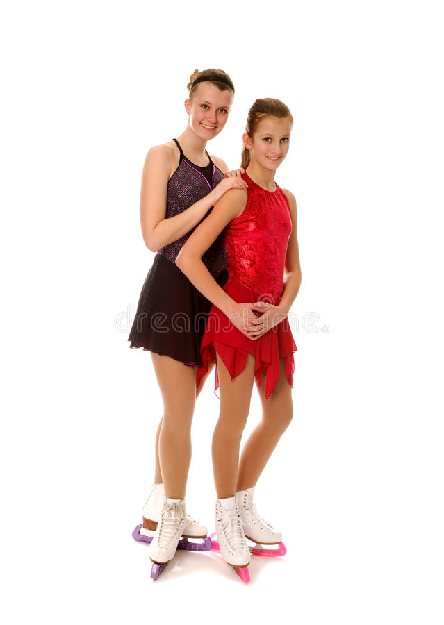Download Figure Skaters Pair stock image. Image of pretty, woman - 18880251