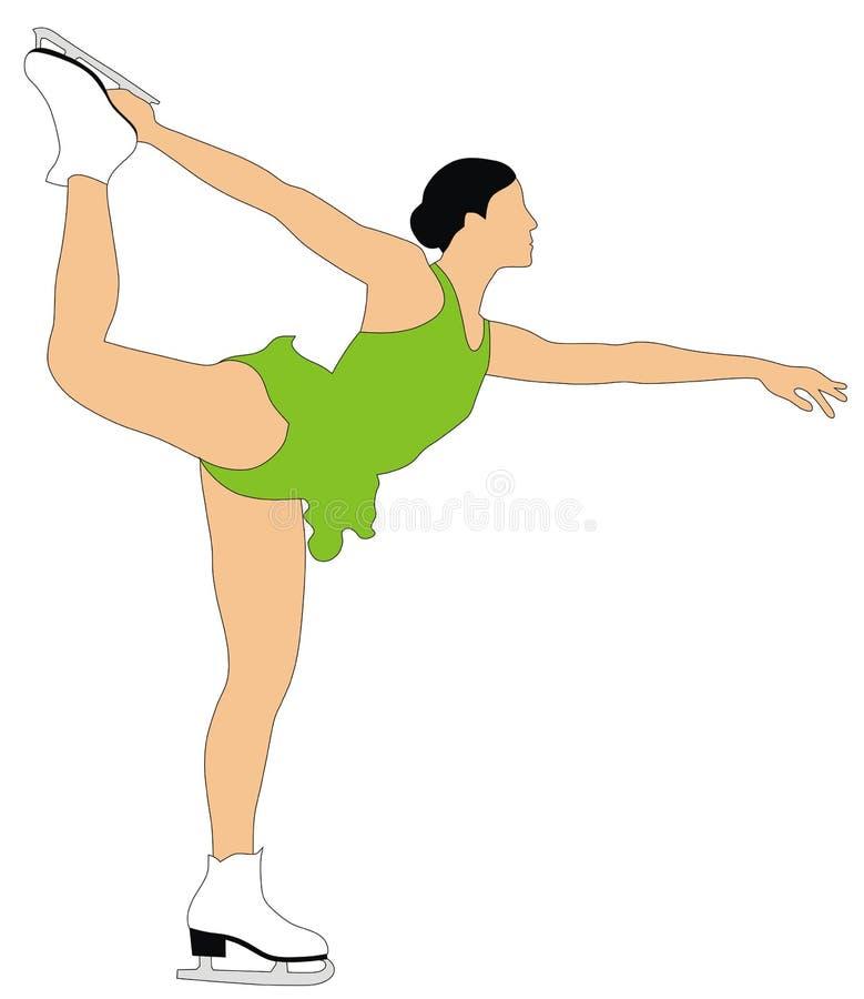 Download Figure skating stock vector. Illustration of games, figure - 6147859