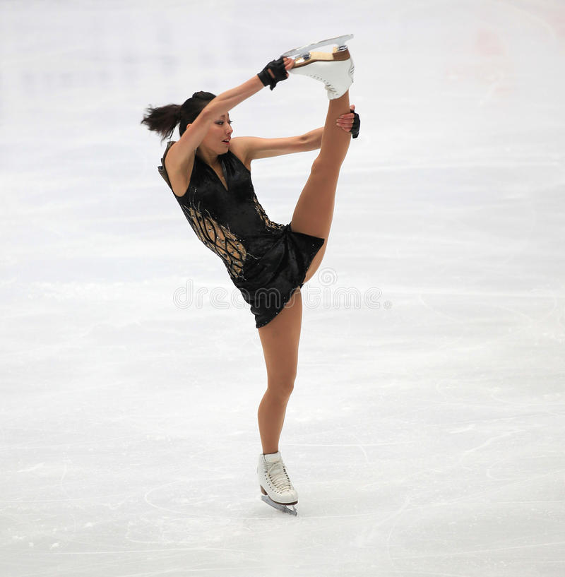 Download Figure Skating spin editorial image. Image of japanese - 16869295