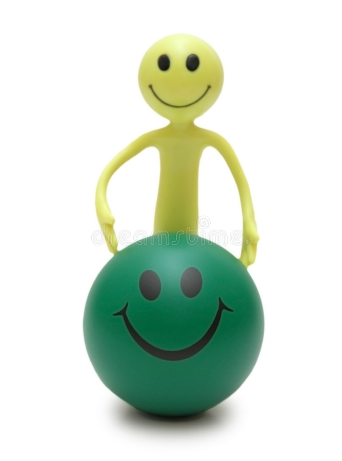 Download Figure Smiley and ball stock image. Image of speech, blue - 1414593