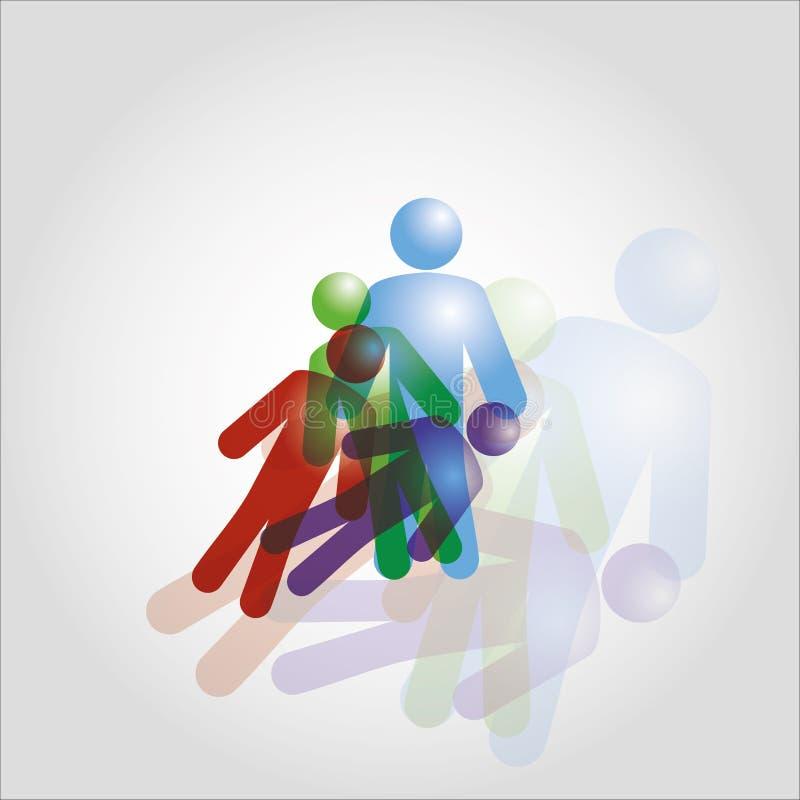 Figure umane illustrazione vettoriale