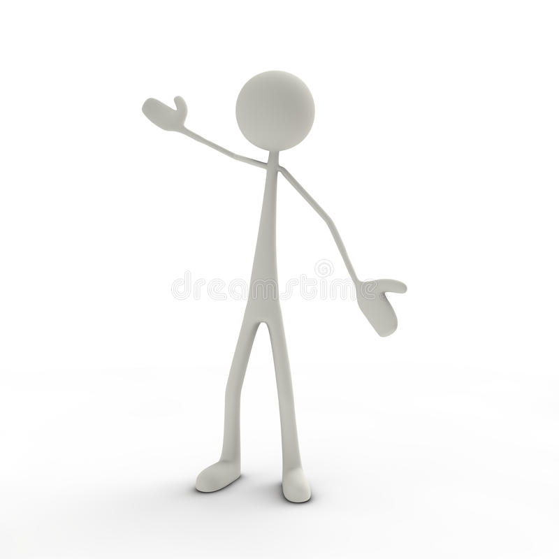 Free Figure With Arms Wide Open Stock Photos - 16468963