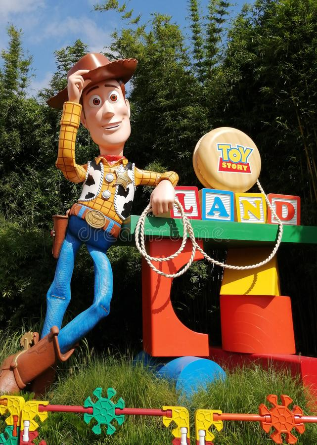 Toy Story Land in Walt Disney World stock photography
