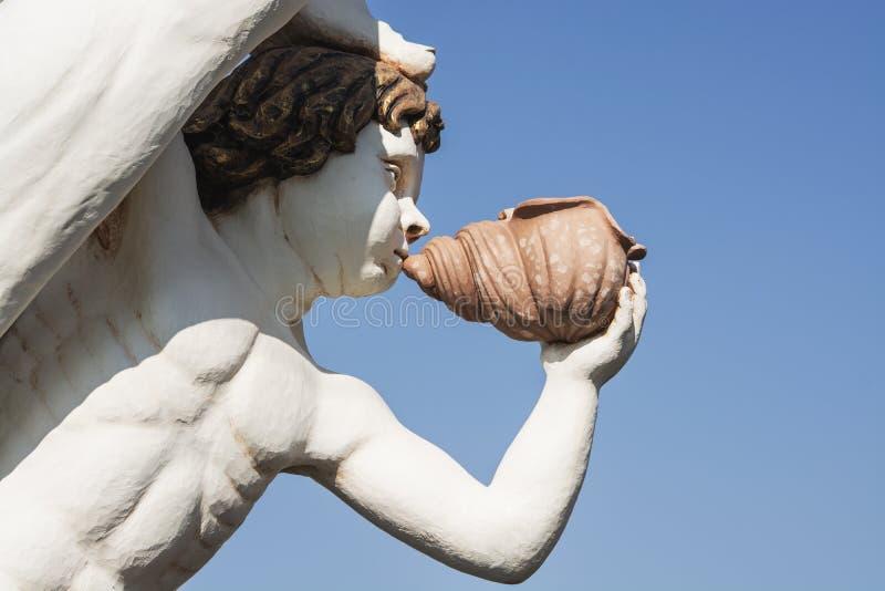Figurehead, ξύλινη διακόσμηση στοκ εικόνες