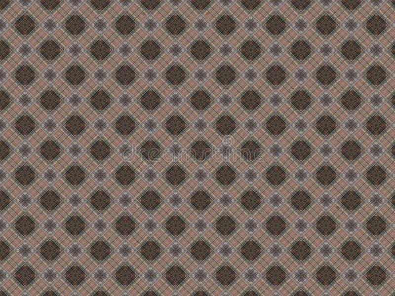 Figurerad filt med den mångfärgade plädet med geometriskt väva arkivbilder