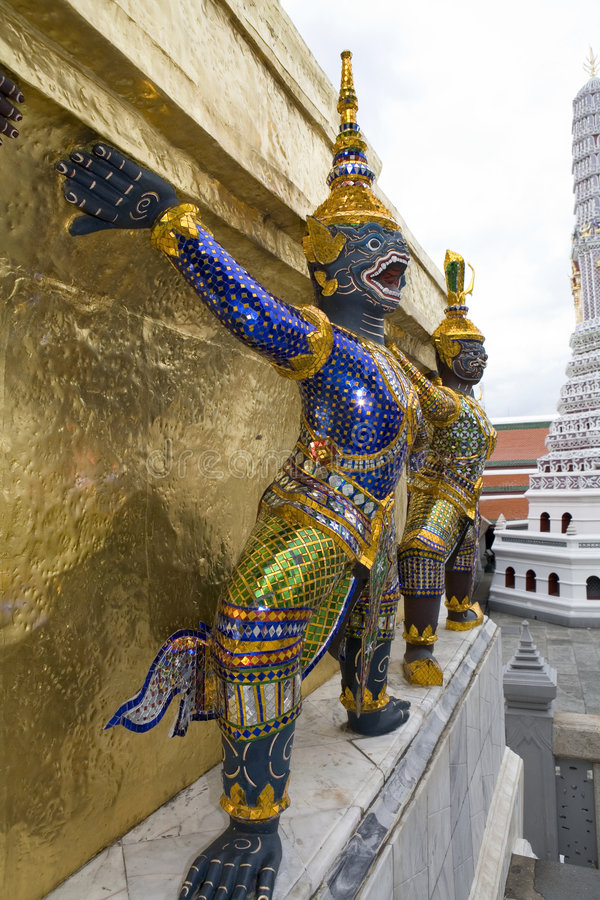 Free Figures In The Royal Palace, Bangkok Stock Photography - 5206812