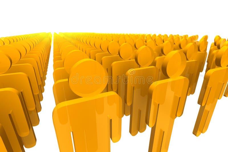 Figures Oranges Images libres de droits