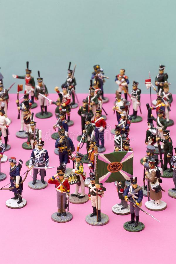 Blue army toy soldiers stock image  Image of marines - 38766783