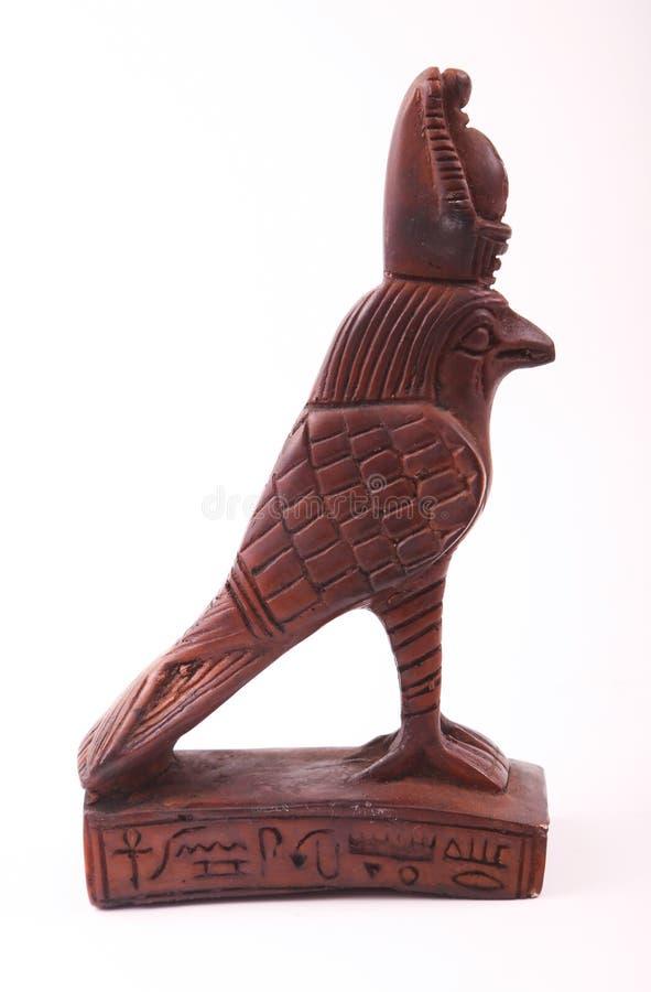 Figurilla de dios de Horus fotos de archivo libres de regalías