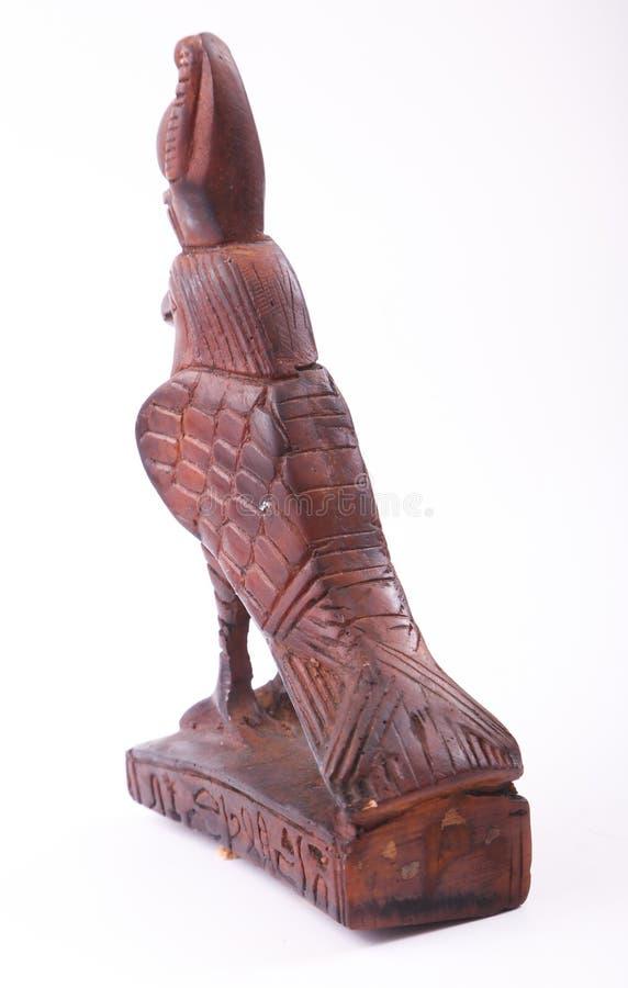 Figurilla de dios de Horus fotografía de archivo