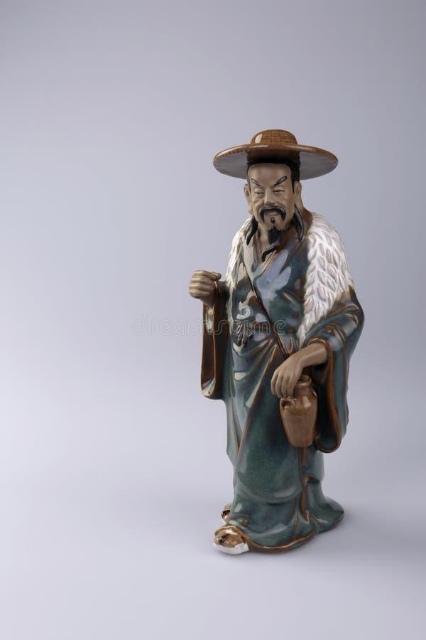 Figurilla del habitante chino fotografía de archivo libre de regalías