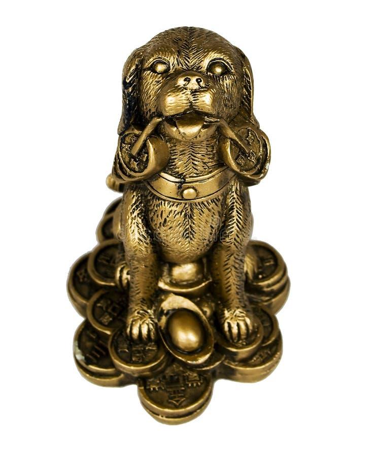 Figurilla del perro, imagen de archivo libre de regalías