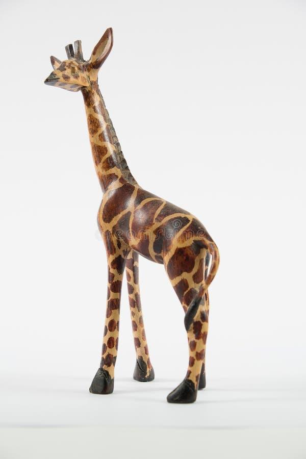 Figurina di modello della giraffa fotografia stock