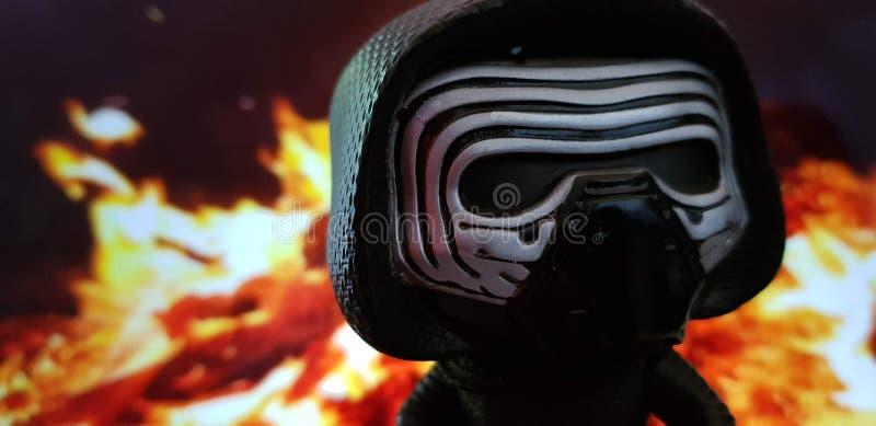 Figurine игрушки Darth Vader стоковая фотография rf