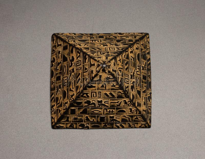 figurine пирамиды стоковое фото rf