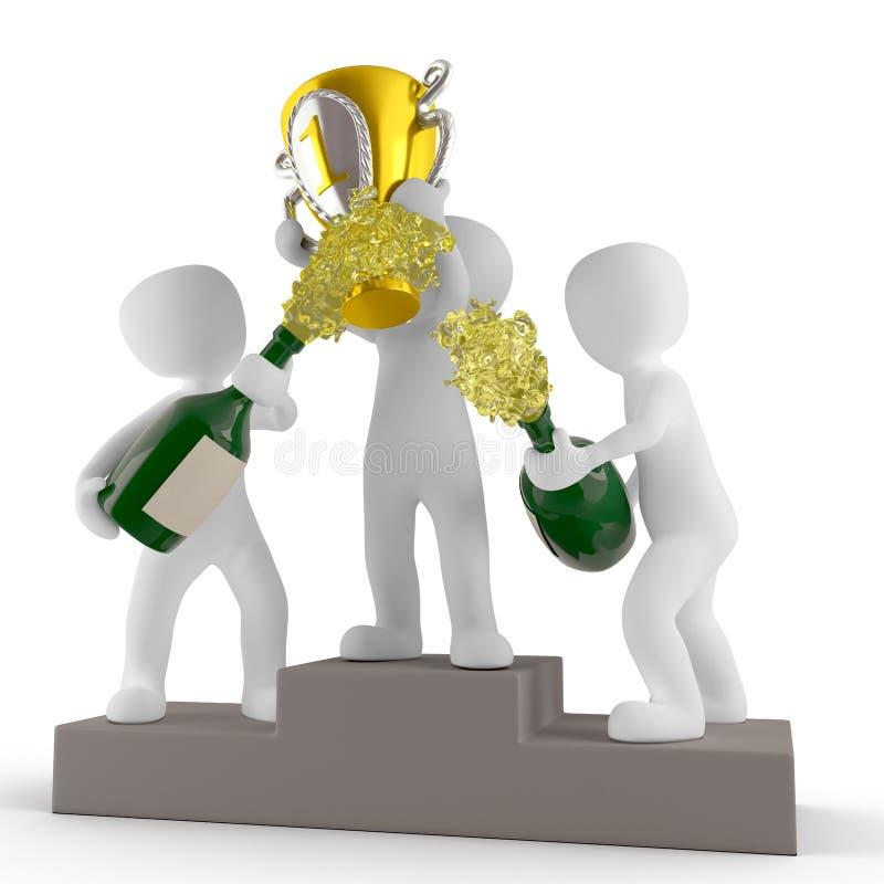 Figurine, трофей, продукт, оформление изделия стоковая фотография rf