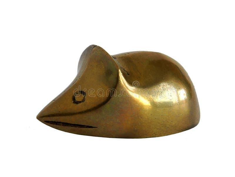 Figurine antique en bronze photo libre de droits