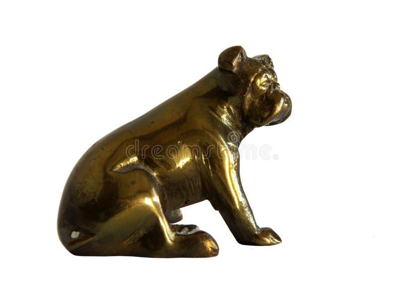 Figurine antique en bronze images stock