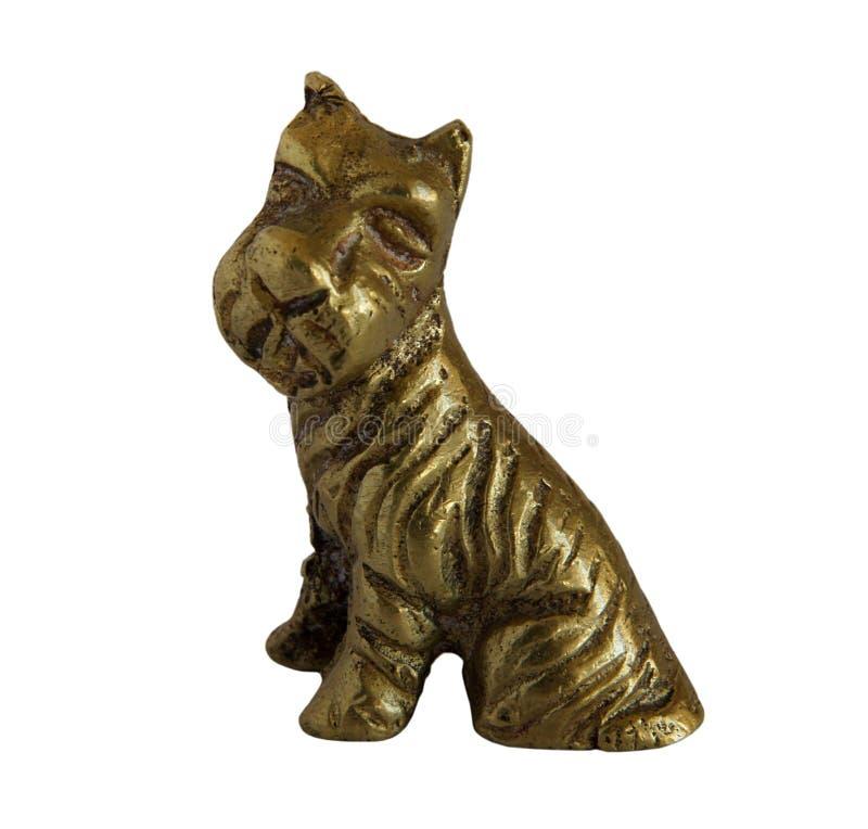 Figurine antique en bronze photo stock