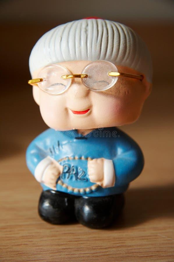 Figurine da argila imagens de stock royalty free