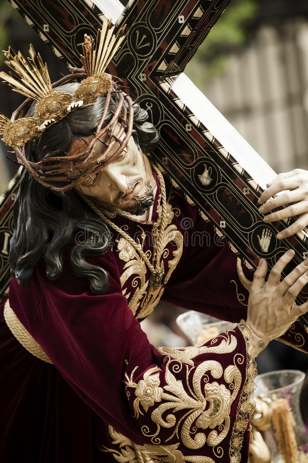 Figurine de Christ foto de stock