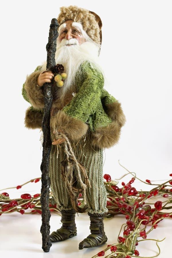 Figurine del Babbo Natale (san Nick) fotografie stock libere da diritti