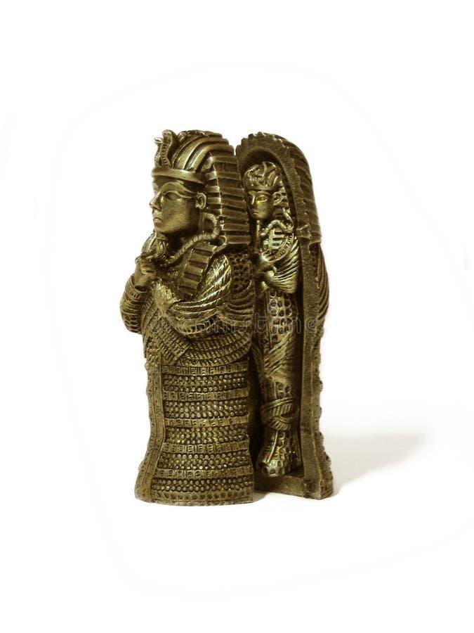 Figurine del Pharaoh fotografia stock