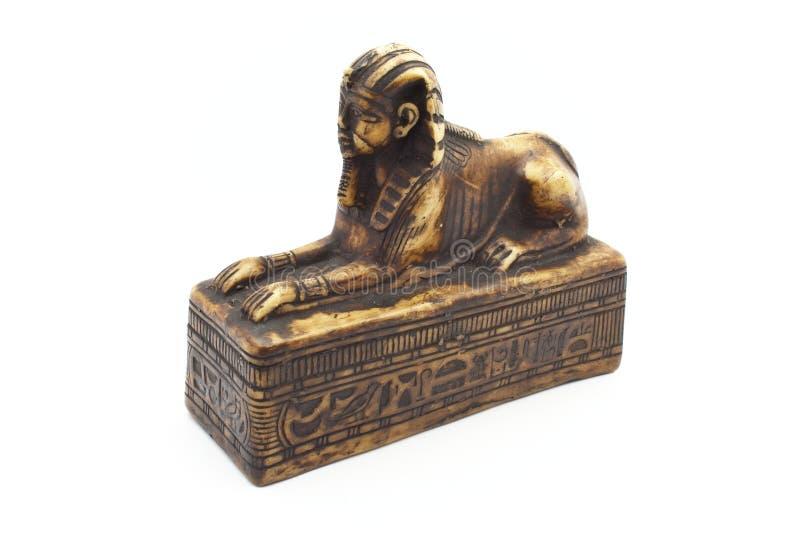 Figurine do sphinx fotografia de stock royalty free