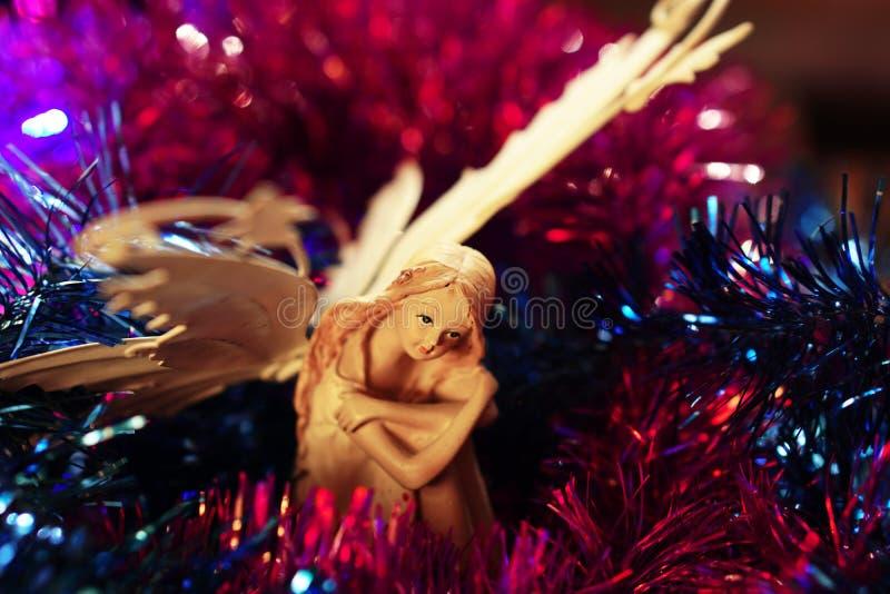 Figurine elf royalty free stock photos