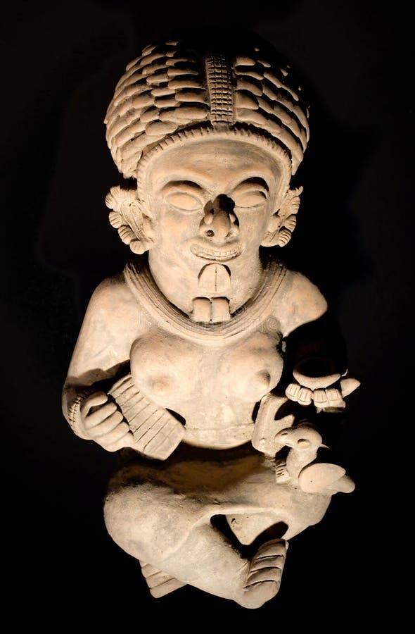 Figurine en céramique d'une culture dans Manabi, Equateur photos libres de droits