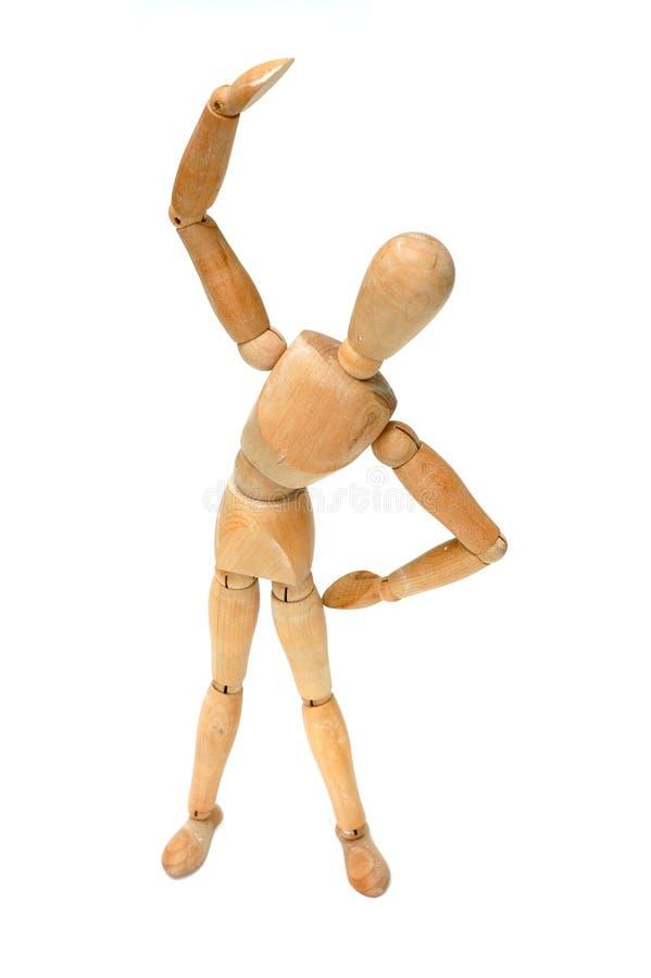Free Figurine - Stretch Royalty Free Stock Image - 784596