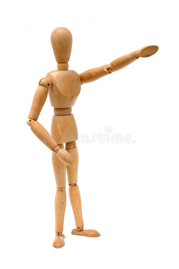 Free Figurine - There Stock Image - 803351