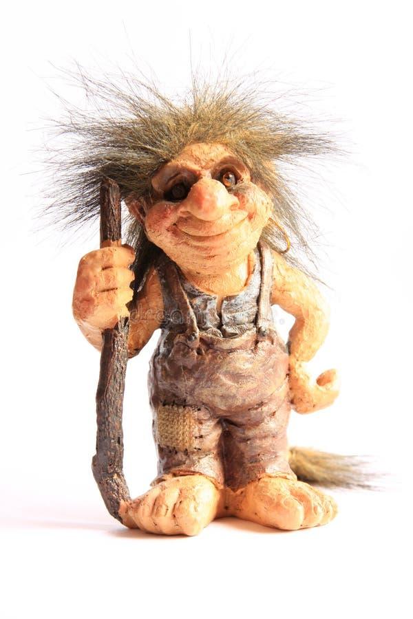 Figurine Troll стоковая фотография