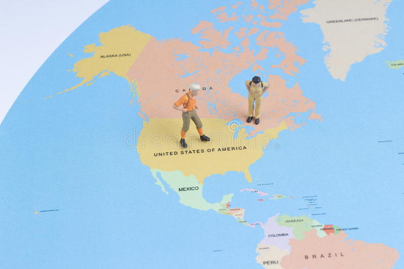 Figurine of young traveler backpack walking big map stock image download figurine of young traveler backpack walking big map stock image image of geography gumiabroncs Image collections