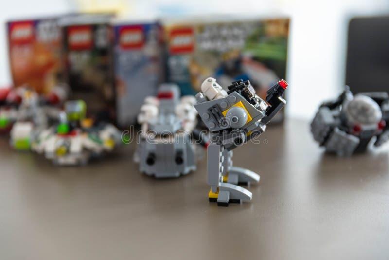 Figurines бренда Lego стоковые фотографии rf