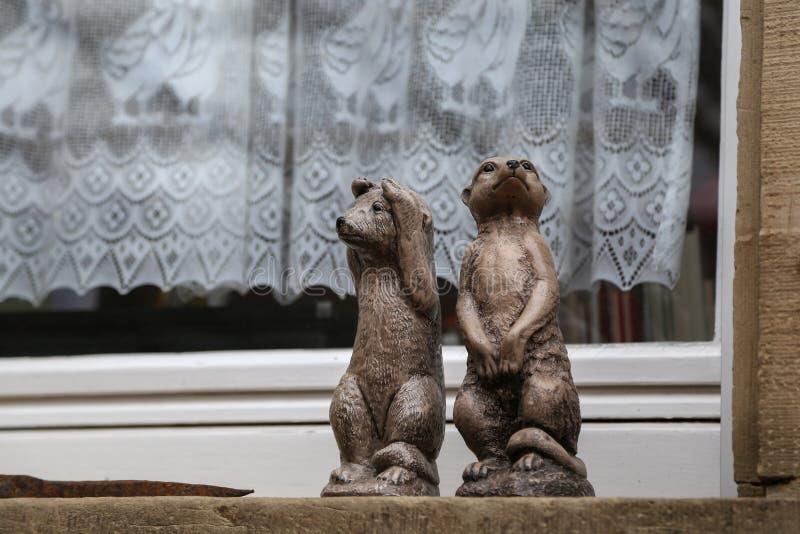 Figurines décoratives de petits animaux photo libre de droits