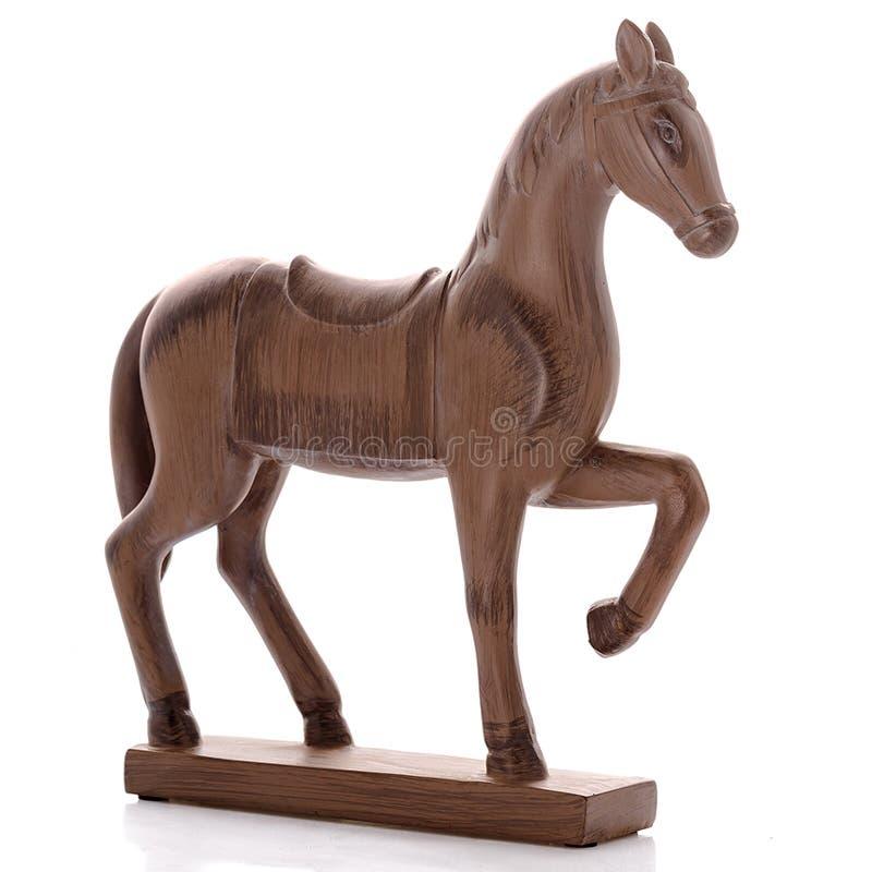 Figurines décoratives, statuette un cheval, accessoires pour l'intérieur photo stock