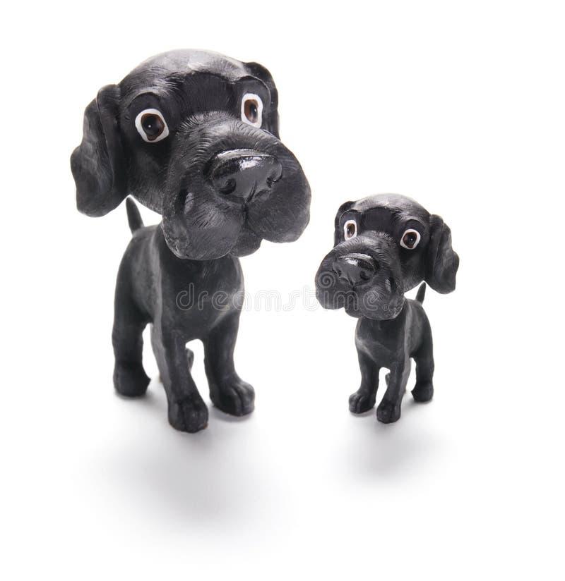 Figurines del cane immagine stock libera da diritti
