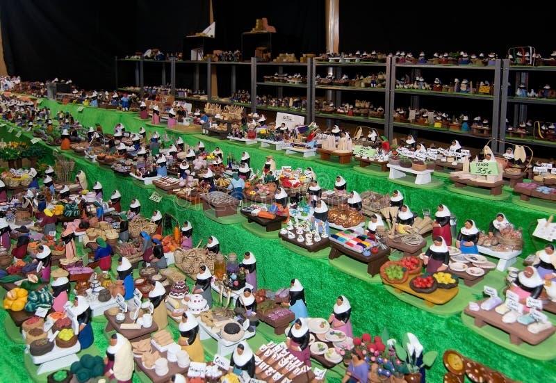 Figurines miniatures image libre de droits