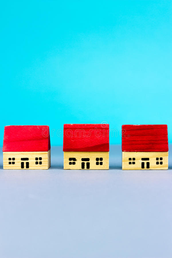 Figurka domy fotografia stock