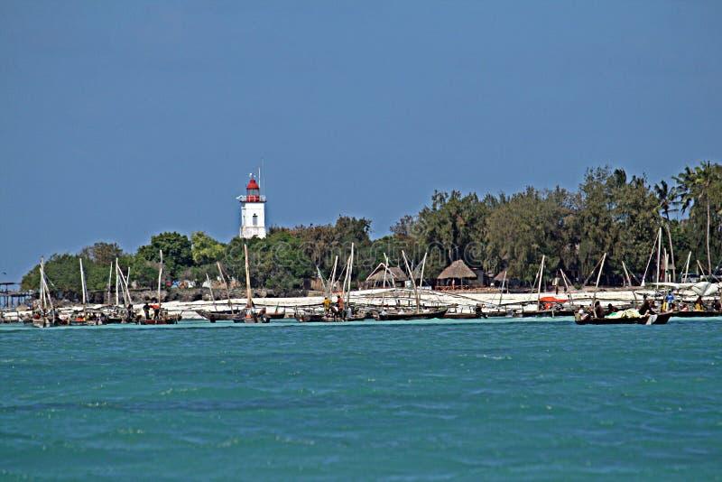 Fihermen de Zanzibar imagem de stock royalty free