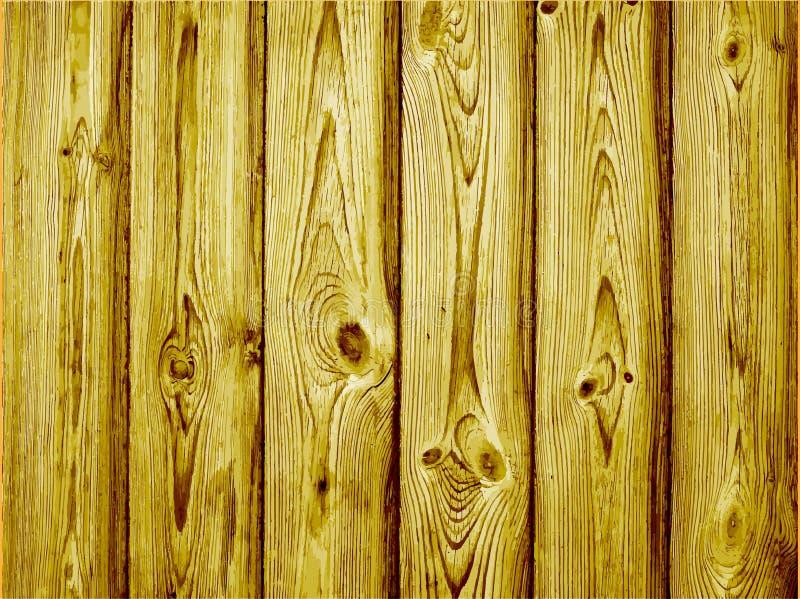 Fija textura de madera abstracta colorida Viejo fondo de madera Ilustración del vector stock de ilustración