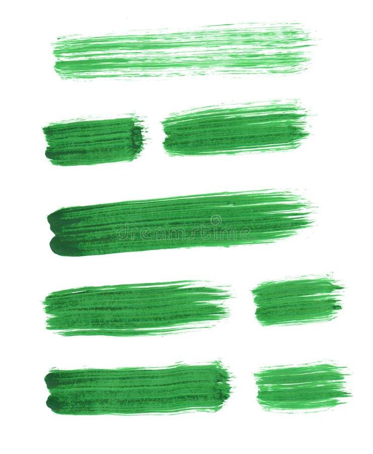 Fije de los movimientos del cepillo para la decoración y el diseño fotografía de archivo