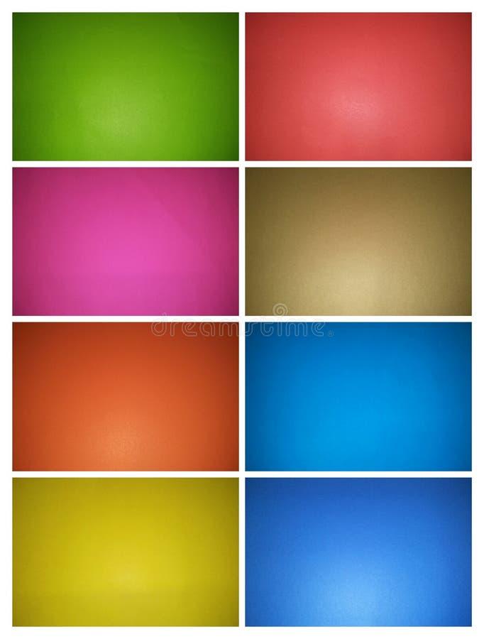 Fije del fondo abstracto multicolor de fotos multi del papel de los colores fotos de archivo