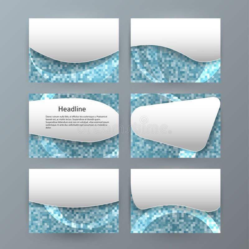 Fije el folleto horizontal PowerPoint slide0 de la presentación de las plantillas libre illustration