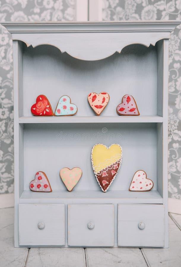 fije los símbolos día de San Valentín del día de fiesta de los caracteres de los objetos imagenes de archivo