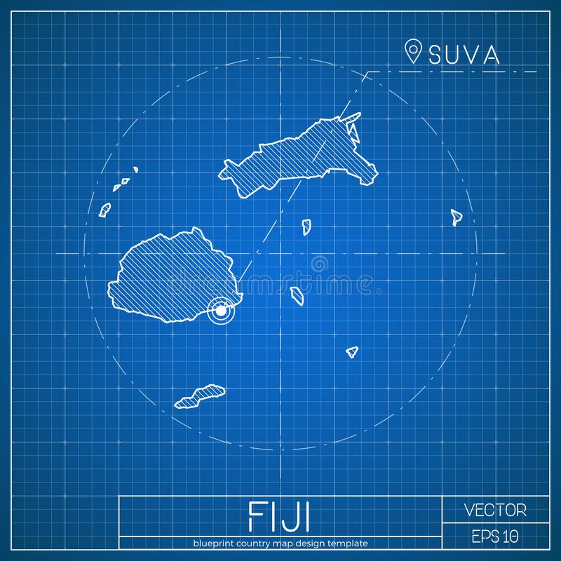 Fiji Map Stock Illustrations 418 Fiji Map Stock